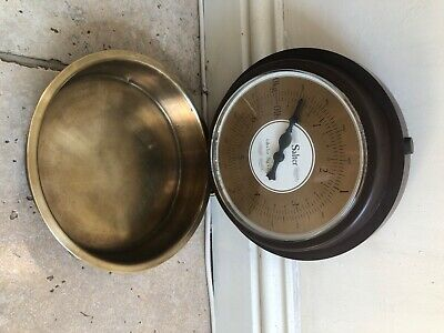 £15 • Buy Salter Kitchen Weighing Scales. Retro.Brass Measuring dish. Used. Fully Working
