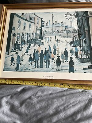 £19.99 • Buy L S Lowry Framed Print Of A Procession. Fantastic Used Condition