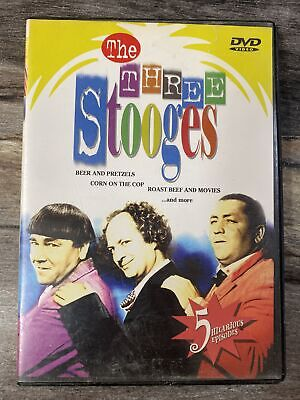 £0.72 • Buy The Three Stooges - 5 Episodes (DVD) - Good