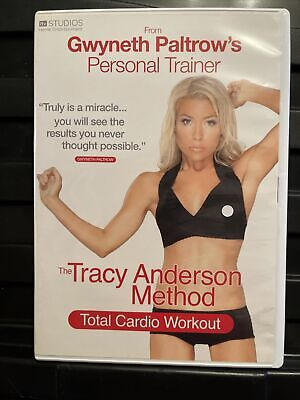 £1 • Buy The Tracy Anderson Method - Total Cardio Workout (DVD, 2010)