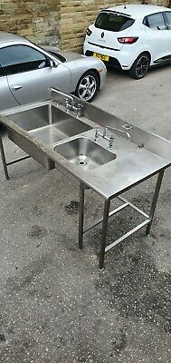 £200 • Buy Commercial Stainless Steel Double Sink