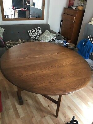£45 • Buy Ercol Drop Leaf Dining Table. Circa 1980s