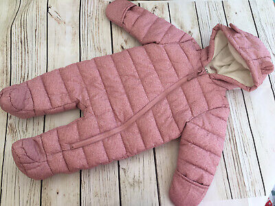 £6.99 • Buy Baby Girls Snowsuit 0-3 Months From Fred&Flo