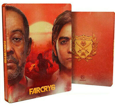 AU71.76 • Buy PREORDER Steelbook Far Cry 6 Official Ubisoft Product Farcry Collector PS4 PS5