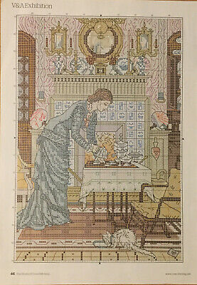 £1.20 • Buy Cross Stitch Chart - V&A Exhibition Victorian Lady
