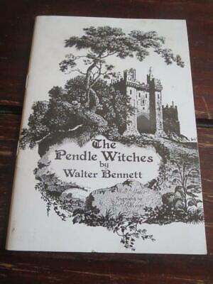 £5 • Buy THE PENDLE WITCHES By Walter Bennett (Lancashire County Council, Pamhlet, 1976)