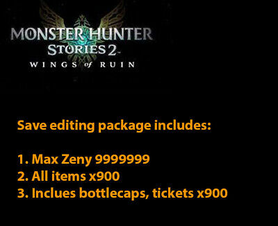 AU20 • Buy Monster Hunter Stories 2 (Save Edit Switch)