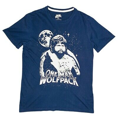 £13.38 • Buy The Hangover One Man Wolf Pack Mens Navy Blue T-Shirt Size Small 2011