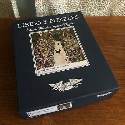 $ CDN118.33 • Buy Liberty Puzzles Gustave Klimt Garden Path With Chickens 495 Pieces
