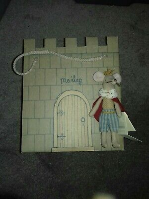 £25 • Buy Maileg 2019 Discontinued King Mouse & His Very Own Castle BNWT