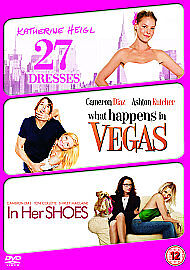 £0.99 • Buy 27 Dresses/What Happens In Vegas/In Her Shoes (DVD, 2009, 3-Disc Set)