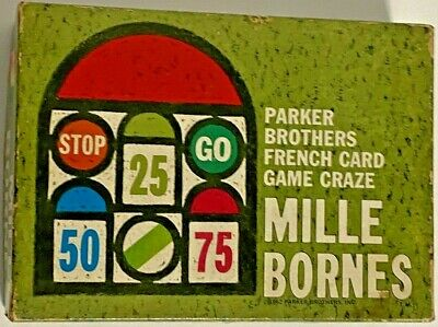 $19.99 • Buy Vintage 1962 Mille Bornes French Card Game By Parker Brothers, 100% Complete