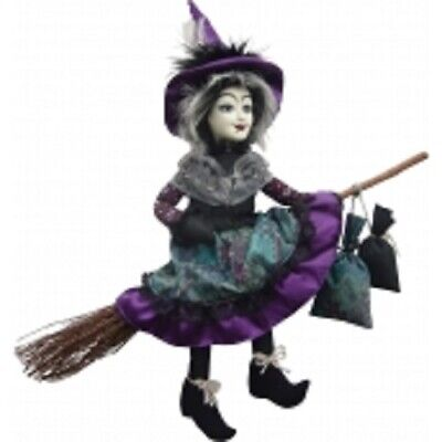 £24.95 • Buy Witches Of Pendle Wanda The White Witch Purple Flying Witch Info Bk Pagan/occult