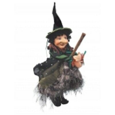 £22.50 • Buy Witches Of Pendle *nell  Green Flying Witch 30 Cms  Info Book Pagan/occult