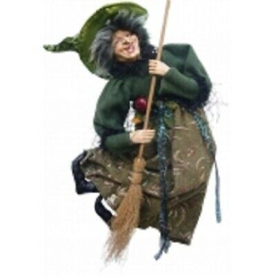 £29.95 • Buy Witches Of Pendle *edwina  Green Flying Witch 50 Cms Info Book Pagan/ Occult