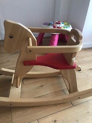 £10 • Buy Pintoy Quality Wooden Rocking Horse
