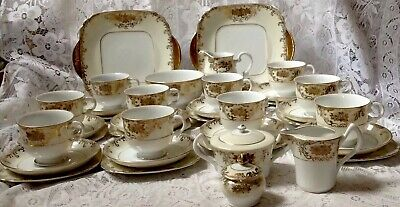 £65 • Buy Vintage Meito Japan Tea Service, Hand Painted Gilted, In Very Good Condition