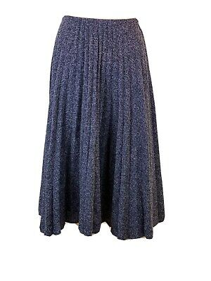 £19.90 • Buy Zara Tweed Midi Pleated Casual Skirt Size S Hardly Worn Excellent Condition