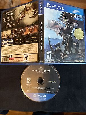 AU10.19 • Buy PlayStation 4/PS4 Monster Hunter: World *Gently Used/No Manual