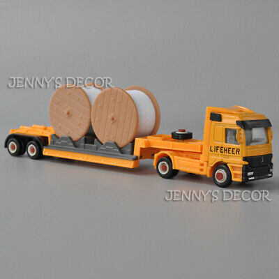 AU10.55 • Buy Welly 1:64 Scale Diecast Truck Model Toy Tractor With Cable Trailer Replica