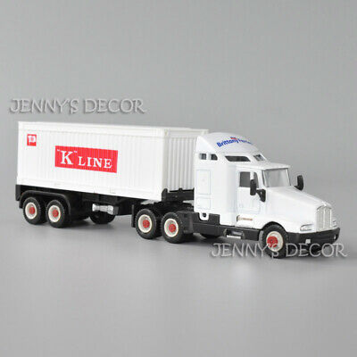 AU10.55 • Buy Welly 1:64 Diecast Truck Model Toy Kenworth T600 Aerocab Tractor With Container