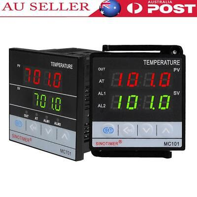 AU25.34 • Buy Dual Digital PID Temperature Controller Thermostat Thermal Thermocouple