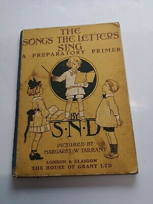 £9.50 • Buy  Margaret Tarrant: The Songs The Letters Sing, Colour Illustrations 1929 Vintage