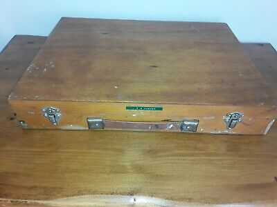 £35 • Buy Vintage Artists Paint Box And Pallete