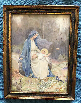 £15 • Buy Margaret W Tarrant Print Ed Vintage Religious Picture In A Frame Medici Society
