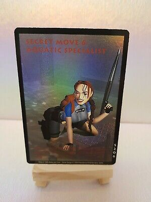 £9.50 • Buy Lara Croft Slippery When Wet S206 Character Card For Tomb Raider CCG