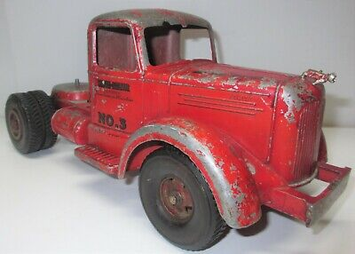 $99 • Buy Vintage Smith Miller Red SMFD Mack No. 3 Fire Truck - Cab Only - Parts Or Repair
