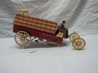 $ CDN18.88 • Buy Vintage AMT Model Kit Budweiser Clydesdale 8 Horse Hitch Parts Lot Wagon READ
