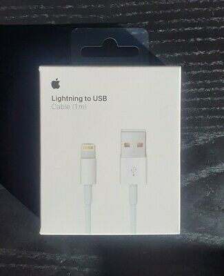 AU22 • Buy GENUINE BRAND NEW Apple 1M Lightning Charger Cable For IPhone & IPad(MQUE2ZM/A)