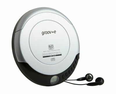 £18.99 • Buy Groove GVPS110SR Retro Series Personal CD Player - Silver