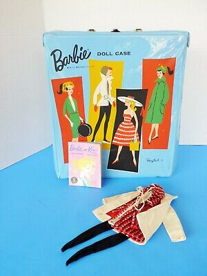 $ CDN25.16 • Buy Vintage No #1 Pony Tail Barbie Case Outfit And Booklet Cheap!!