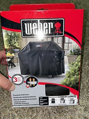 $ CDN50.35 • Buy Weber 7130 3 Burner Premium Gas Grill Cover - 44.5 X 58 X 25 Inches NEW