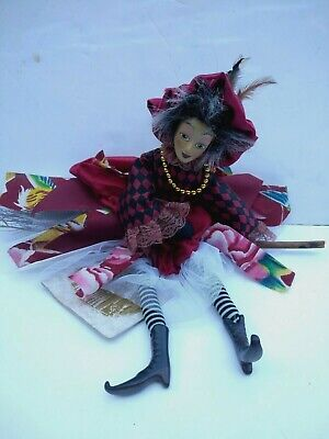 £29.99 • Buy Witches Of Pendle KATHERINE HEWITT  Witch Doll 45cm Flying Collectible Wicca New