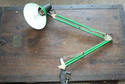 £30 • Buy Industrial, Machinist, Workshop Anglepoise Lamp With Clamp #2441
