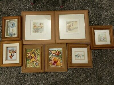 £7.50 • Buy Winnie The Pooh Framed Pictures/clock