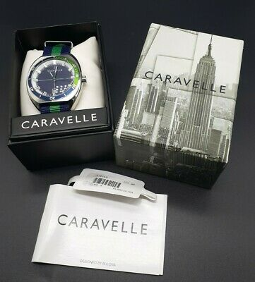 $49.99 • Buy BNIB Caravelle By Bulova Wrist Watch Complete With Box, Cushion, And Manual
