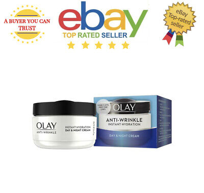 £12.99 • Buy Olay Instant Hydration Day & Night Cream 50ml Anti - Wrinkle Lifts Fine Lines