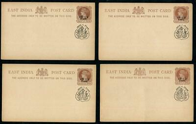 £6.04 • Buy EAST INDIA: Queen Victoria ¼A Jhind State Overprint Postcards - Unused (41663)