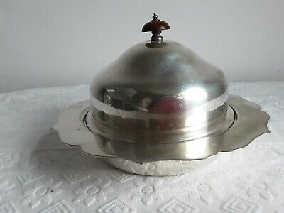£39.99 • Buy Vintage Harrods Silver Plated Butter/caviar Dish.good Big Size.
