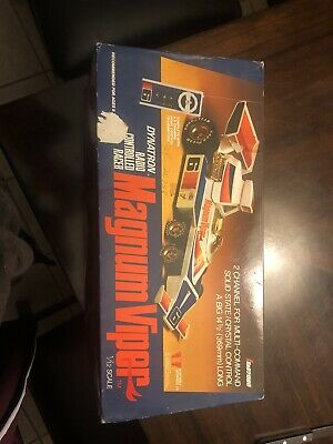 $60 • Buy Vintage Dynatron Magnum Viper Radio Controlled Racer Never Used. Still In Box!