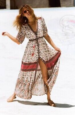 AU299 • Buy Spell And The Gypsy Collective Elle Gown Rosewood XL