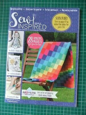 £0.99 • Buy ''Sew Inspired'' Issue 17 -- Back Issue -- Magazine Only -- Never Used