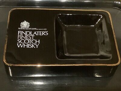 £27.50 • Buy Findlaters Finest Scotch Whisky Ashtray 25x16x5cm By Wade - Rubber Feet