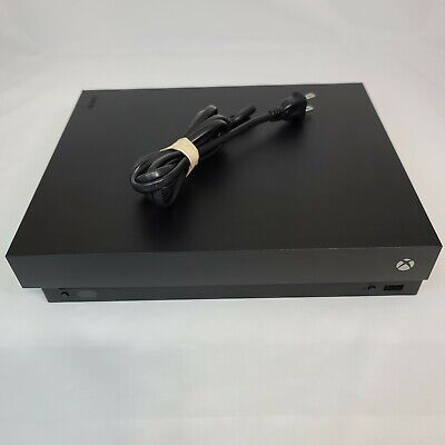 $169 • Buy Microsoft Xbox One X Console Only - Bad HDMI Port To TV (For Parts Or Repair)