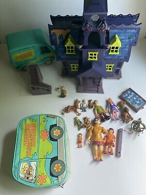 £18.18 • Buy Lot Scooby-Doo Haunted Mansion  Not Complete + Mystery Machine+lunchbox+figures