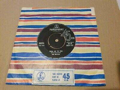 £129.99 • Buy The Beatles - From Me To You 45-r5015ni Mega Rare Nigerian 1st Press 7   Vg/ex